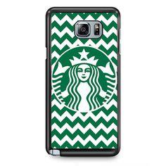 Starbucks Original Chevron TATUM-10101 Samsung Phonecase Cover Samsung Galaxy Note 2 Note 3 Note 4 Note 5 Note Edge