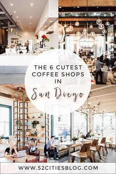 national coffee day ideas Headed to San Diego and looking for a caffeine fix? Here's your guide to the best coffee shop the city has to offer! This San Diego coffee shop is so San Diego Shopping, San Diego Vacation, San Diego Travel, Cute Coffee Shop, Best Coffee Shop, San Diego Coffee Shops, Moving To San Diego, California Dreamin', California Honeymoon