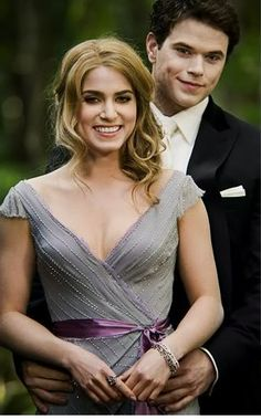 Rosalie & Emmett. Loved these movies. Please check out my website thanks. www.photopix.co.nz