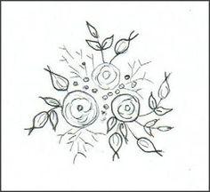 Шелковой лентой Вышивка: бесплатно SRE ДИЗАЙН - Лента стежка Цветы
