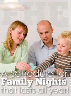 family home Check out this great Family activity night schedule that will last all year. A whole year of teaching your kids great values! Family Fun Night, Family Love, Home And Family, Family Theme, Family Games, Family Activities, Church Activities, Kids And Parenting, Parenting Hacks