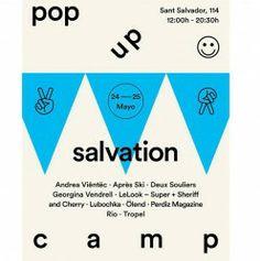 #Barcelona #Shopping #Fashion : Pop Up Salvation Camp ^_^ http://www.pintalabios.info/es/eventos_moda/view/es/1596 #ESP #Evento #Mercado