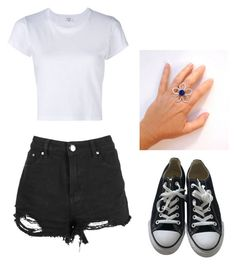 """Untitled #339"" by autumn-horan-27 on Polyvore featuring Converse"