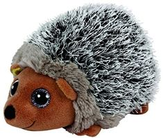"Ty Beanie Boos Spike - Brown Hedgehog 6"" by Ty"