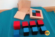 Binomischer Würfel Montessori, Coasters, Crafting, Playing Games, Coaster