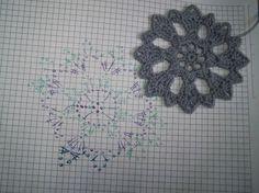 Irish crochet &: Пончо из мотивов