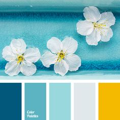 color palette bright / color palette ` color palette vintage ` color palette art ` color palette for home ` color palette bright ` color palette pastel ` color palette blue ` color palette challenge Color Schemes Colour Palettes, Paint Color Schemes, Blue Colour Palette, Bedroom Color Schemes, Bedroom Paint Colors, Color Combinations, Yellow Color Schemes, Decorating Color Schemes, Color Blue