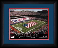 MyTeamPrints.com - NY Giants Stadium Sign Your Day at Metlife Stadium, $54.99 (https://www.myteamprints.com/new-york-sign-your-day-at-giants-stadium/) #Giants #NYG
