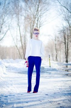 Discover this look wearing Zara Sweaters, Pants - Glamorous programmer! by tini_tani styled for Business, Work Everyday Outfits, Your Style, Personal Style, That Look, Zara, Normcore, Glamour, Popular, Sweaters