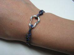 Kleine Karabiner Armband mit 2 mm Seil von CocoClimbingJewelry