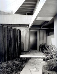 fulton residence | rodney walker, 1948. —southern california. [tautological —photograph by julius shulman]