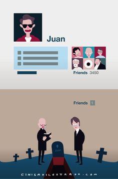 Amigos #cinismoilustrado