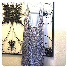 Sparkle Top Razor Back Charlotte Russe Tops Tank Tops