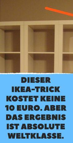Dieser IKEA-Trick kostet keine 10 Euro. Aber das Ergebnis ist absolute Weltklasse.