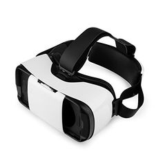 Newest Version Virtual Reality Headset 3D VR Case Video Movie Game Glasses for 4557 Smartphoneswhite * Learn more by visiting the image link.(It is Amazon affiliate link) #2018