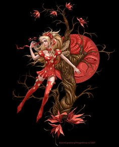 petite fee by Anna Ignatieva Magical Creatures, Fantasy Creatures, Dragons, Peacock Painting, Kobold, Unicorns And Mermaids, Love Fairy, Beautiful Fairies, Clip Art