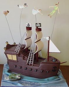 Peter Pan - wow! this cake is amazing!