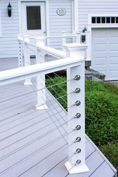 Exterior Feeney Cable Rail