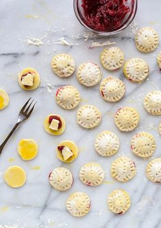 The perfect make ahead holiday appetizer- Mini Cranberry Baked Bries in Puff Pastry