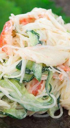 Crab salad with mayonnaise recipes