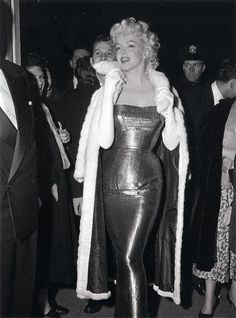 The most famous endomorph of all - Marilyn Monroe