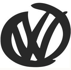 Vinyl Gem Car Stickers, Car Decals, Vinyl Decals, Window Stickers, Vw Passat, Logo Sticker, Sticker Design, Caddy Van, Vw Logo
