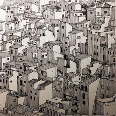 WEBSTA @ markpoulierart - Pueblos Blancos of amazing #andalucía #Olvera #spain #cadiz #urbansketchers #archisketcher #dailydrawing #sketch #inktober #penandink #handdrawn #moleskineart #micron005 #architecture #arquitectura #town #spaintourism #blanco #white #architectureinpenandink