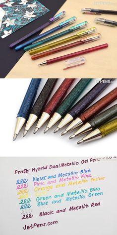 Deco Metallic Ink Permanent Marker Pen 1.2 mm Thick Making Decorative Crafts