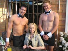 You'll need some Sexy Bare Butt Butlers to serve the guest and spoil the Bride. Burlesque Party, Marriage Law, South African Weddings, Lingerie Party, Wedding Function, Party Service, Wedding Entertainment, Walking Down The Aisle, Perfect Party
