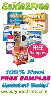 100% Real FREE samples at Guide2Free! Ends 11/9/13