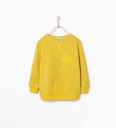 SWEATSHIRT WITH POCKET - Sweatshirts - Boy (3 - 14 years) - KIDS | ZARA United States