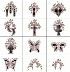 Is a beautifully digitized set of 12 designs (not counting the free cutwork sample) that you can add to shirts, linens and too much more to list. Also included are 4 dainty floral element's to help further enhance your creations! Custom Embroidery, Embroidery Thread, Machine Embroidery Designs, Project Free, Cut Work, Free Samples, Smocking, Free Design, Wings