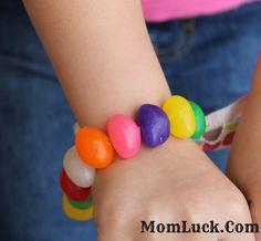 easter jelly bean bracelet