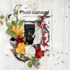 "Follow your Heart 2 by MLDesign _ page kit, _ ""capture with love"" _ page Ida"