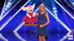 Actu : Âgée dà peine 12 ans cette jeune ventriloque suscite un buzz mondial (VIDEO)