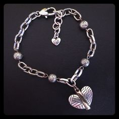Bracelet Authentic Brighton silver & gold Acoma Heart Bracelet Jewelry Bracelets