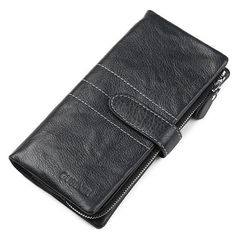 We love it and we know you also love it as well European Men Leather Wallets Brand Credit Cards Men's Purse Genuine Leather Male Clutch Long Zipper Cowhide Phone Wallet just only $59.00 with free shipping worldwide  #walletsformen Plese click on picture to see our special price for you