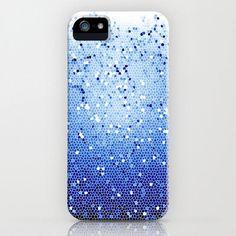 iPhone 5 Case - Ocean Depths Mosaic - Graph Drawing - unique iPhone case, art iPhone case, hipster iphone case, iphone 5 case. $38.00, via Etsy.