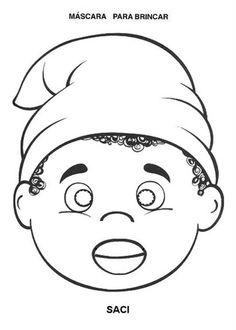 Educando com simplicidade: Máscaras dos personagens do Sítio do Pica-pau Amarelo.