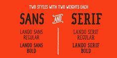 Lando - Webfont & Desktop font « MyFonts