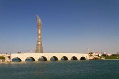 Aspire Park & The Torch Doha. view on FB https://www.facebook.com/SinbadsQatarPocketGuide   photo: Xavier Bouchevreau