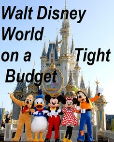 Walt Disney World on a Tight Budget