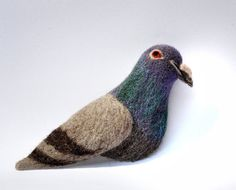 Pigeon Brooch