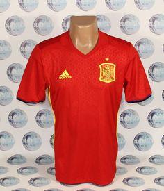 SPAIN NATIONAL TEAM 2016 2017 FOOTBALL SOCCER SHIRT JERSEY CAMISETA BOYS   Spain e2f46c68bdcbb