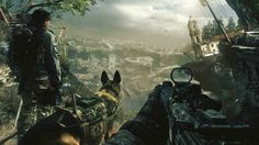 Call of Duty Ghosts Story Details and Gameplay Experience ......................New weapons, a scout dog and personalised soldiers join the menu, along with fresh modes and a clever smartphone app that provides a second screen during online battles..........................................via fliqolet.com - theguardian.com