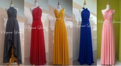 Check out this item in my Etsy shop https://www.etsy.com/uk/listing/183106880/infinity-dress-colorful-wedding