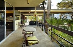 """Celebrity Homes: Steve McQueen's Former House is a Timeless Treasure - Terence Steven """"Steve"""" McQueen was an American actor. Called """"The King of Cool"""" Celebrity Mansions, Celebrity Houses, Palm Springs Houses, Steve Mcqueen, Spring Home, Types Of Houses, Mid Century Design, Luxury Real Estate, Midcentury Modern"""