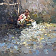 Alexi Zaitsev 1959 | Russian impressionist