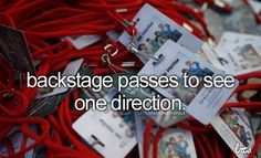 I litterally think that they should give out One Direction tickets to the Directioners that haven't been to a concert, like does anyone else agree???