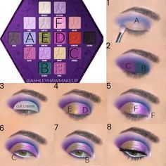 makeup for beginners eyeshadow lagane ka tarika kit makeup revolution 144 eyeshadow palette 2016 collection makeup case makeup tutorials looks makeup tutorials eyeshadow how to apply Makeup Eye Looks, Eye Makeup Steps, Cute Makeup, Sleek Makeup, Star Makeup, Makeup 101, Makeup Inspo, Makeup Case, Makeup Hacks